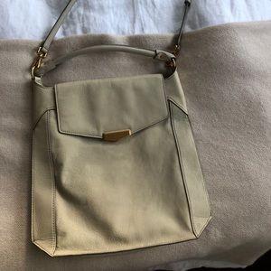 Marc Jacobs slim off white shoulder bag